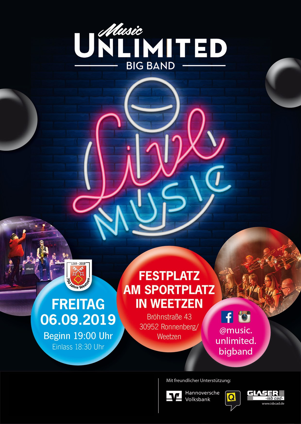Music Unlimited - Live!